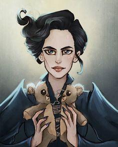 Miss Peregrine by Ninidu.deviantart.com on @DeviantArt