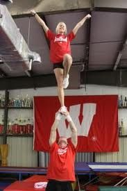 Liberty Stunt (: ~My chearleading days... I used to do this!
