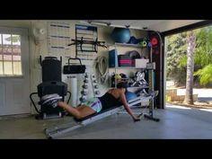"5 Minutes ""Back Fat"" Workout - Total Gym Pulse Back Fat Workout, Six Pack Abs Workout, Gym Workout Tips, No Equipment Workout, Workout Planner, Workout Outfits, Workout Tanks, Workout Motivation, Gym Workout Plan For Women"