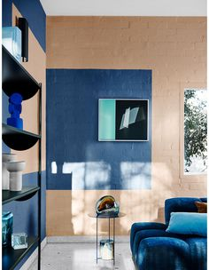 The Design Files – The Dulux 2020 Colour Forecast Is Revealed! Styled by Bree Leech. Dulux Blue, Color Trends, Design Trends, Blue Palette, Interior Decorating, Interior Design, The Design Files, Home Trends, Deco Design