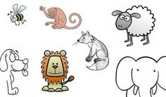 Lyst til å lære deg å tegne dyr? Da må du se her! Snoopy, Stupid Things, Comics, My Love, Creative Ideas, Teaching Ideas, Kids, Crafts, Fictional Characters