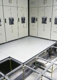 Access Floor Systems Consist Of Modular Panels Set On