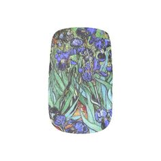 Van Gogh the Irises Florals Flowers Minx Nails Minx® Nail Wraps
