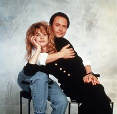 Meg Ryan and  Billy Cristal in When Harry Met Sally