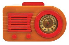 Fada 1000 Bullet Radio American, circa 1945