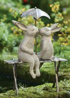 Circle of Bunnies | Charleston Gardens® - Home and Garden Collection Classic outdoor and garden furnishings, urns & planters and garden-related gifts