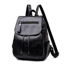 670737c11c2b Women PU Leather Backpacks For Girls Lady School Bags Casual Backpack  Female Casual Ladies Backpack ModelsNew Fashion