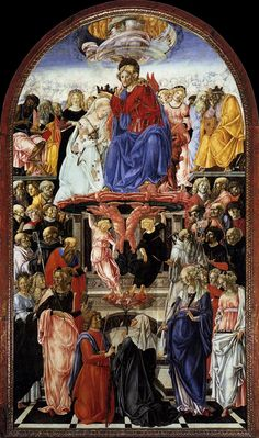 Francesco di Giorgio Martini ~ The Coronation of the Virgin ~ Pinacoteca…