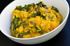 red lentil and squash curry stew