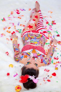 candy girl III by evgna on DeviantArt – girl photoshoot Creative Photoshoot Ideas, Photoshoot Themes, Power Colors, Girl Photo Shoots, Foto Pose, Candy Shop, Pin Up Art, Candyland, Candy Colors