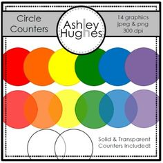 Here's a free set of circle counter graphics for creating your own resources.