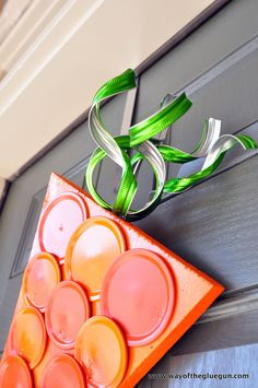 Hometalk | Canning Ring Carrot Wreath