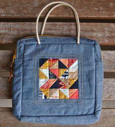 Wild & Free Mosaic Bag by Heidi Staples