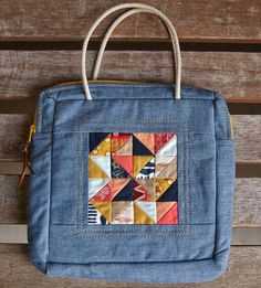 Wild & Free Mosaic Bag by Heidi Staples