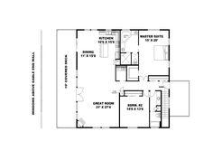 2nd Floor Plan, 012G-0126