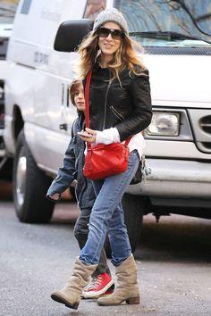 Sarah Jessica Parker in Stefanel