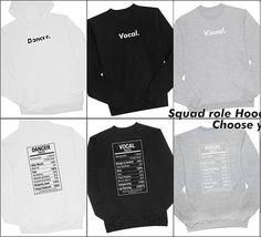 ----------------------------  MORE INFORMATION  CLOSE PRE-ORDER : 29 NOVEMBER 2016  Product : Kpop Squad Role Hoodie Kpop Crewneck Sweater  Price :  Hoodie Rp. 160.000 Crew Neck Rp. 150.000  Options : Vocal Rapper Maknae Leader Visual Dancer  Available color : black white grey Available size : S M L XL XXL XXXL Aplication : Full Sablon GL Rubber Material : Cotton fleece  #####  CEK KATALOG LENGKAP : #bds_apparel  Atau kunjungi website : http://ift.tt/1JZIOQD  Have a question ? How To Order ?…