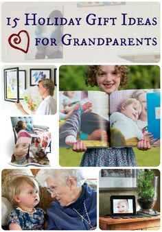 15 Holiday Gift Ideas for Grandparents( pin now read later)