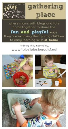 Tot School Gathering Place Weekly Link Up #totschool