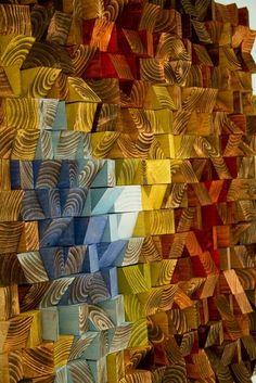 Wood Wall Art reclaimed wood art The Northern by ArtGlamourSligo