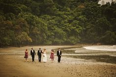 From our wedding in the beautiful garden that is Costa Rica