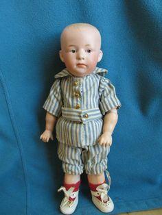 Antique German Gebruder Heubach Doll Pouty #6894