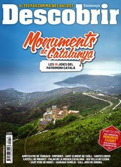 Revista #Descobrir 218. Monuments de #Catalunya. Les 10 joies del #patrimoni català!