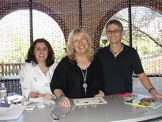 Artbeads.com owners Cynthia and Devin Kimura with Swarovski Ambassador and beading rock star Kristal Wick at 2012 Swarovski ELEMENTS Create Your Style