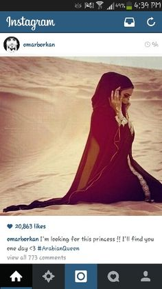 Wanna be Omar Borkan's queen? Cover urself up. He lyk girls covered up not showing off!!