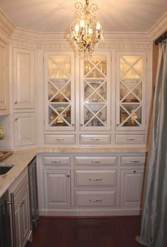 doors like these on dining room built ins