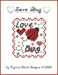 Stitcheree!: Love Bug free pattern