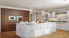Chic and Relaxed Kitchen Interior design