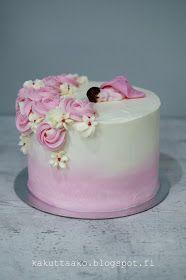 Kakuttaako: Kastekakku pienelle prisessalle Birthday Cake, Desserts, Food, Tailgate Desserts, Deserts, Birthday Cakes, Essen, Postres, Meals