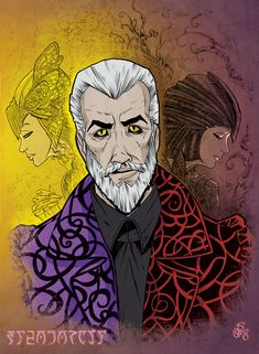 ArtStation - Sheogorath, Daedric Prince of Madness (with wip), Asta Legios