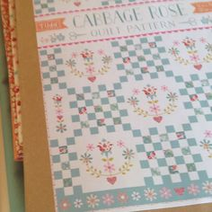 Tilda Cabbage Rose quilt kits are now ready