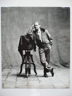 Irving Penn self portrait