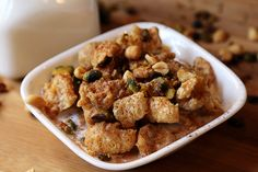 Salted Caramel Pork Rind Cereal... I'm not sure about this, I'll let you all know