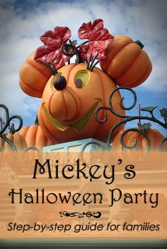 Mickey's Halloween Party at Disneyland - a step-by-step guide for families from tipsforfamilytrips.com.