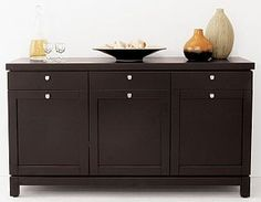 Store your extra dinnerware, flatware, and table linens in a buffet table or sideboard. Shop our great selection of stylish buffet tables and sideboards. Dining Room Console, Dining Room Furniture, Sweet Home, Home N Decor, Furniture, Home Furniture, Dinner Room, Buffet Table, House Interior Decor