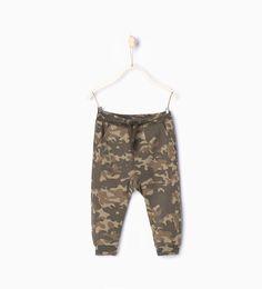 ZARA - ENFANTS - Pantalon à imprimé camouflage