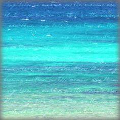 Turquoise Sea Photography Beach Word Art Quote by BeachBumChix Quote Prints, Canvas Art Prints, Beach Words, Sea Photography, Beach Wall Art, Nature Photos, Word Art, Art Ideas, Decor Ideas
