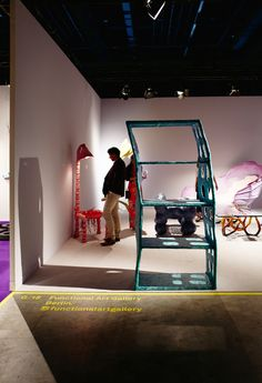 See the latest from leading Brands, contemporary furniture, lighting and objects d'art Art Basel Miami, Stand Design, Contemporary Furniture, Art Direction, Toddler Bed, Objects, Colours, Lighting, Architecture