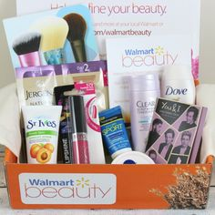 Check this out. I just discovered Walmart Beauty Box subscription. Just 5 $. Walmart Beauty Box Summer 2015
