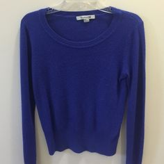 Royal blue sweater Super comfy! Lightly worn. Forever 21 Sweaters