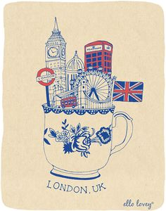 British things in a tea cup. :)