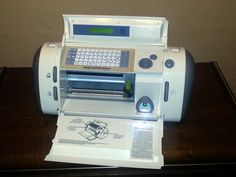 Cricut Personal Electronic Cutter by DaytonaVintage on Etsy