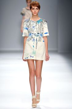 Cacharel Spring 2013 Ready-to-Wear Collection Photos - Vogue