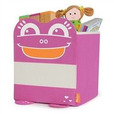 Mess Eaters: Cube Shelf Storage Bin - Pink
