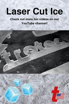 Stay cool this summer with this fun laser application! See how our Speedy Series flatbed laser glides through ice. Want to learn more about Trotec laser syst. Ice Video, Trotec Laser, Laser Cutting, More Fun, Don't Forget, Channel, Quote, Cool Stuff, Games