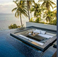 Inspiring Architecture Conrad Koh Samui, Tayland Dream Home Remodeling: Is It Really a Dream? Exterior Design, Interior And Exterior, Beautiful Homes, Beautiful Places, Beautiful Sunset, Luxury Pools, Luxury Cars, Dream Pools, Swimming Pool Designs